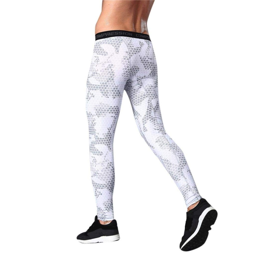 dbd5b685738251 Get Quotations · Sunfei Mens Gym Sport Thermal Tight Compression Base Layer  Pants Long Leggings - Advanced Compression &