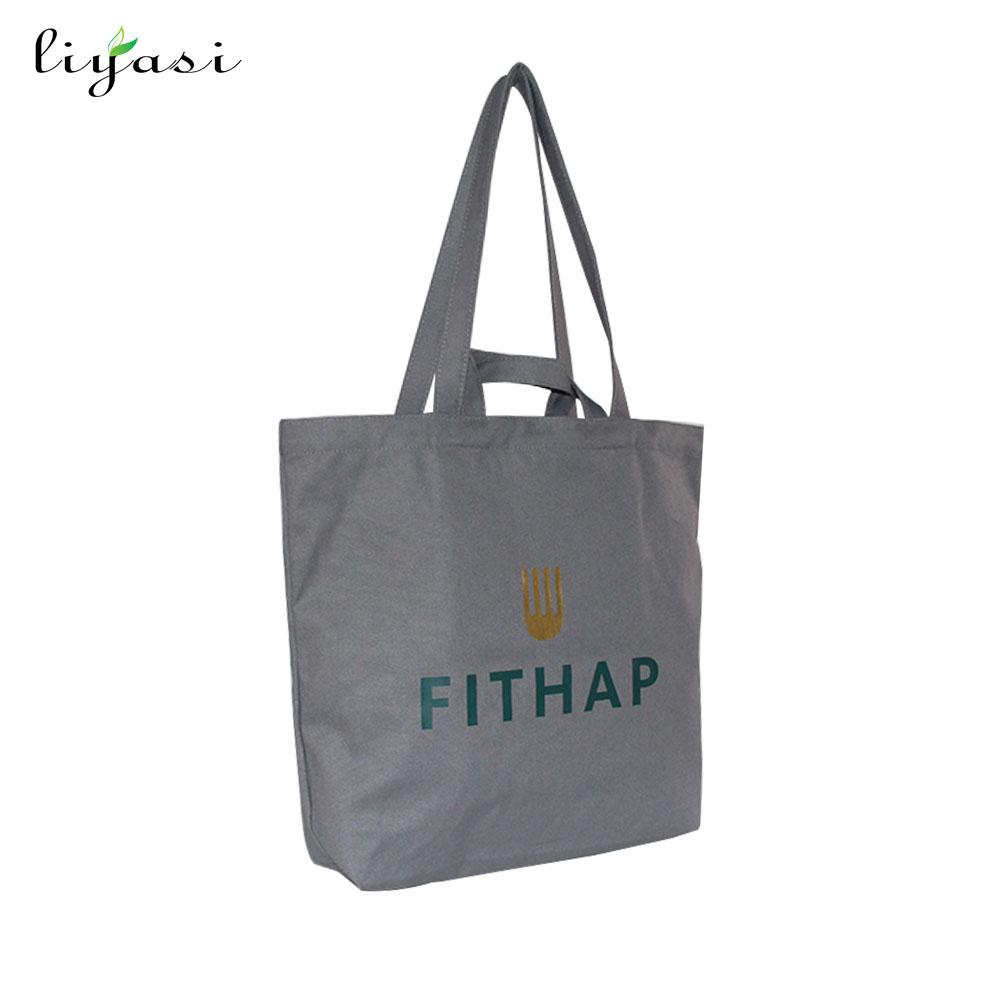 8b2f5842ea Heavy duty canvas tote bag, fatto a mano da 12 oncia tessuto, ideale per