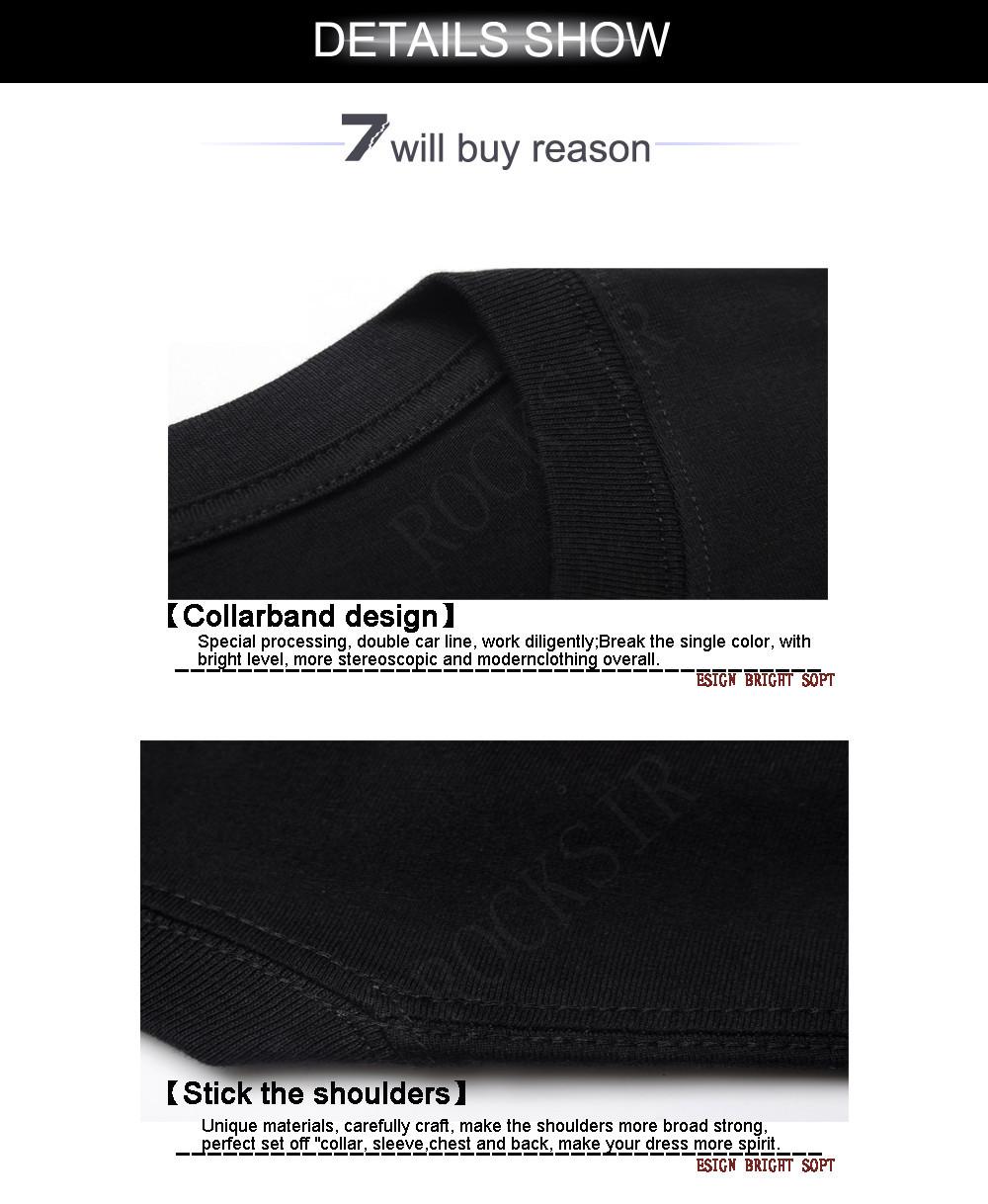 2014 אופנה ACDC להקת רוק טי מגניב שחור חולצה אישיות חולצה על Mems