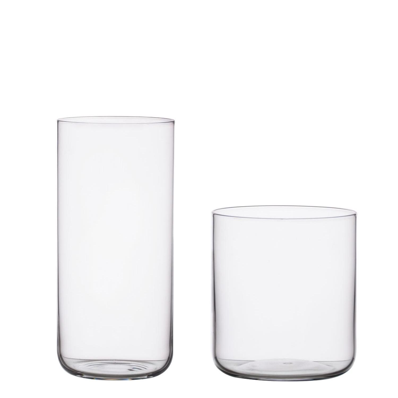Wedding clear stemless drinken bier wijnglas
