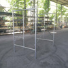chinese suppliers galvanized/painted movable Door assembly of scaffolding