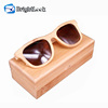 China Custom Logo Polarized Wholesale Bamboo Sunglasses
