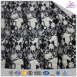 Wedding dress embroidery water soluble lace embroidery