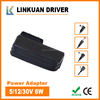 power adapter for led light and desk lamp 5v 600ma power adapter