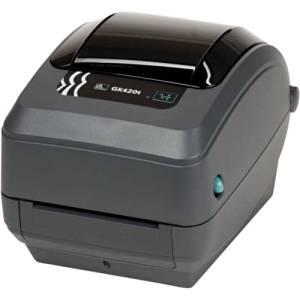 "Zebra Technologies Corporation - Zebra Gk420t Direct Thermal/Thermal Transfer Printer - Monochrome - Desktop - Label Print - 4.09"" Print Width - 5 In/S Mono - 203 Dpi - Usb - Ethernet ""Product Category: Printers/Label/Receipt Printers"""