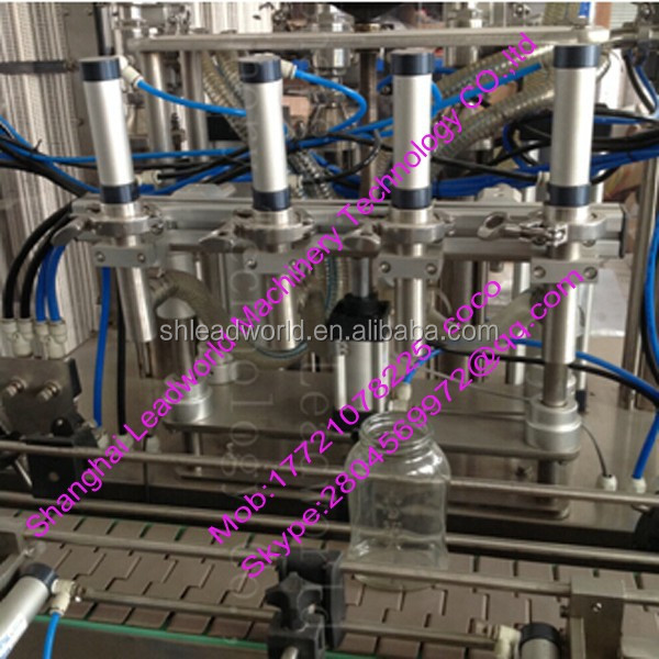 high efficiency and professional carbonated beverage washing filling and capping machine