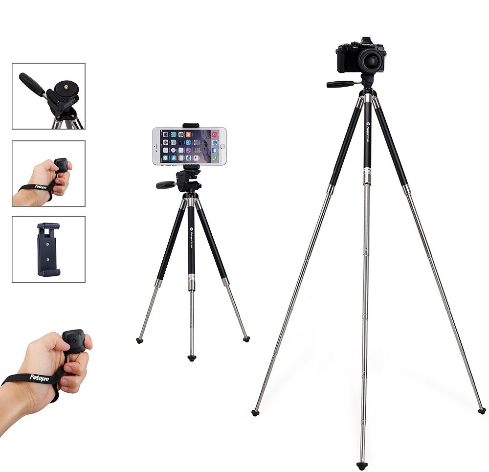Fotopro best selling 39.5 Inch Aluminum Camera tripods ,Compact Tripods Stand mount,