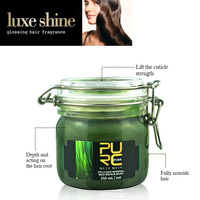 New hot sale best quality green hair mask keratin treatment care hair hot reviews