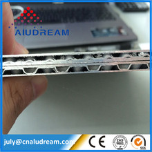 New product Aluminum Lattice Wave Core Composite Metal Sheet Panel