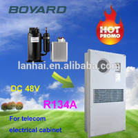 DC 48v solar power air conditioner for carport solar sleeper bus air conditioning cooling unit for car