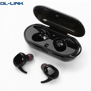 TWS-9100 wholesale mobile phone earphone with charging box