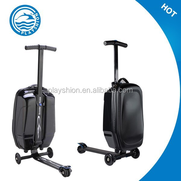 Chinese Suitcases Scooter Built In Luggage Scale