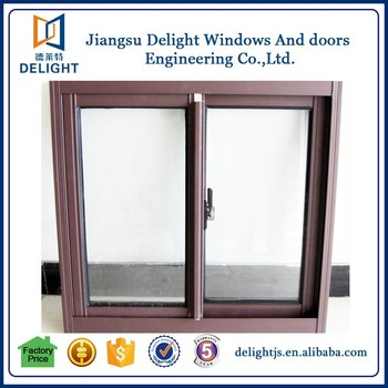 Good quality blind aluminum sliding window with germany for Sliding glass doors germany