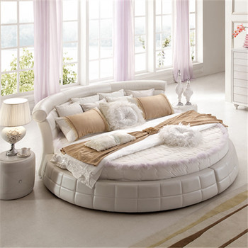 Latest Bed Designs With Low Price Oem Acceptable Circle Bed Frame