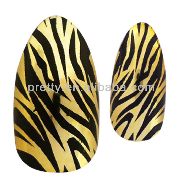 Artificial french stilletto nail tip