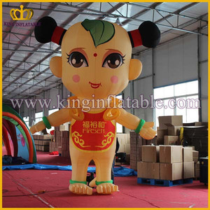 Professional Design Cheap Giant Inflatable Mascot Cartoon Character For Sale