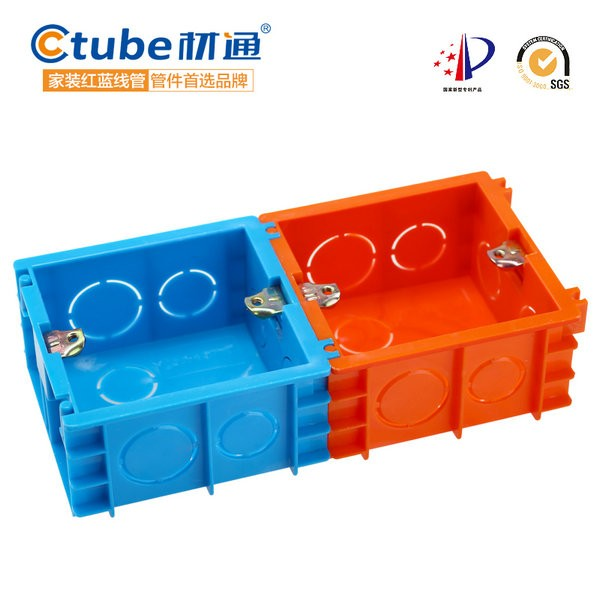 HTB1Kjt8LXXXXXbgapXXq6xXFXXXe pvc wall mount switch wiring box plastic electrical outlet boxes electrical wiring boxes at bayanpartner.co