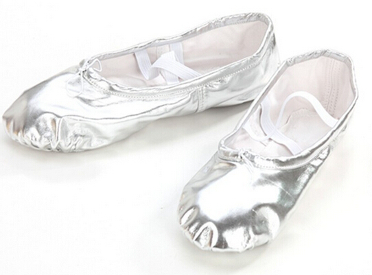 92d32095806 Buy Gold silver Size23~44 children soft sole girls ballet shoes Women  Ballet Dance Shoes for kids adult ladies in Cheap Price on m.alibaba.com