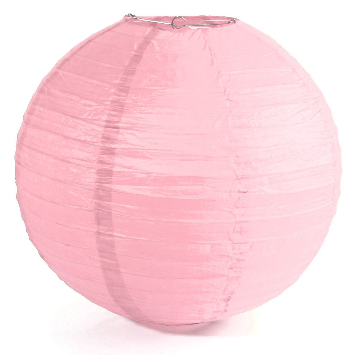 "Paper Lantern - SODIAL(R)1 x Chinese Japanese Paper Lantern Lampshade for Party Wedding, 40cm(16"") Pink"