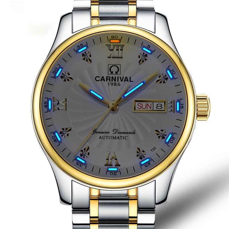 Alibaba.com / Your own branded Japan miyota automatic mechanical H3 tritium gas tube luminous waterproof watch