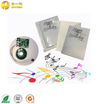 Wholesale Custom Musical Greeting Card Music Singing Birthday