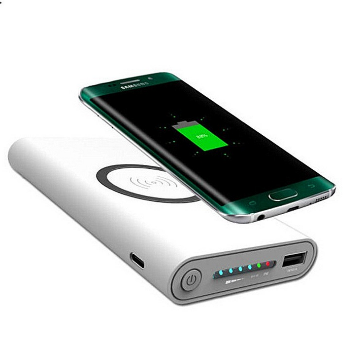 2017 New QI Wireless Bettery Charger, Manufacturer Wholesale Mobile Charger Power Bank