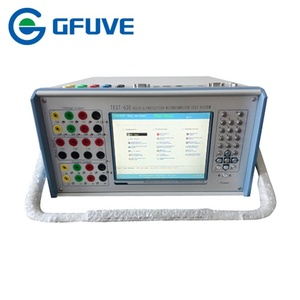 Six phase electric and electronics relay tester with Differential  Protection function