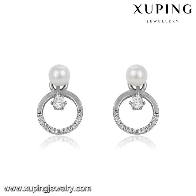 039b611fb 94063 xuping artificial jewelry new style, earrings studs wholesale pearl  earrings pendiente