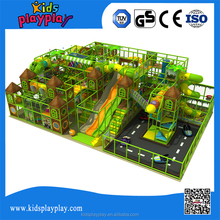 2017 innovation kids forest theme LLDPE indoor playground