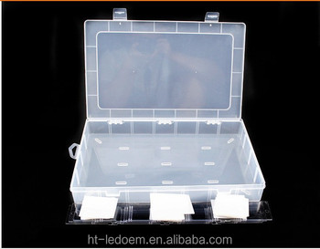 28 Compartment Divided Plastic Organizer Box