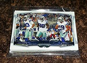 2014 Topps FOOTBALL - DALLAS COWBOYS Complete Team Set