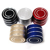Decompression Hypnosis Rotary Gyro Adult Fingertip Vortecon Kinetic Desktop Toys Copper/ Aluminum Alloy toy Children Toys Gift