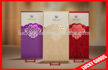 Cheap New Style Wedding Invitation Cards Models Buy Wedding