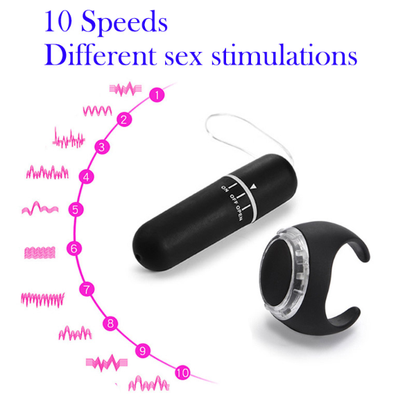 Wireless Remote Control Vibrator Egg Women Ladies Sexy Lace Lingerie Vibrating Mini Jump Egg Panties