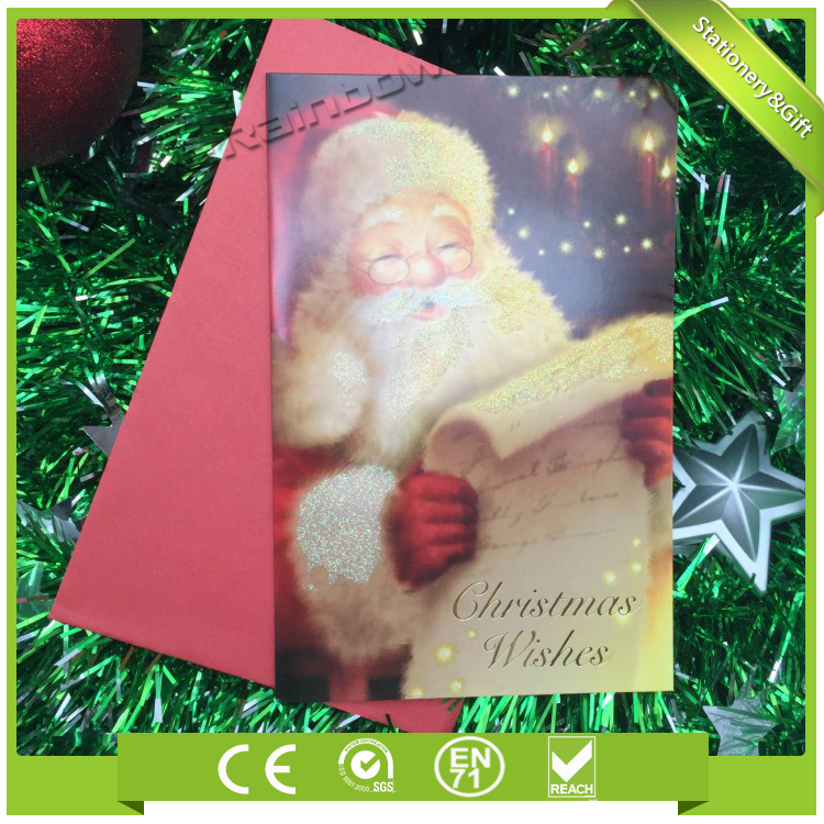 China Supplier Wholesale Custom Greeting Cards / Christmas Card ...