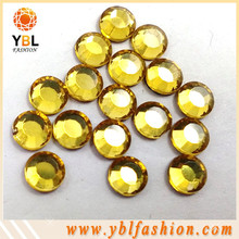 Hot fix glass rhinestone korean low lead