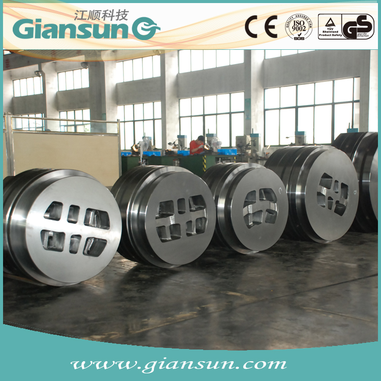 Giansun China H11 H13 aluminum T Slot C beam V profile section extrusion extrude die with European standard