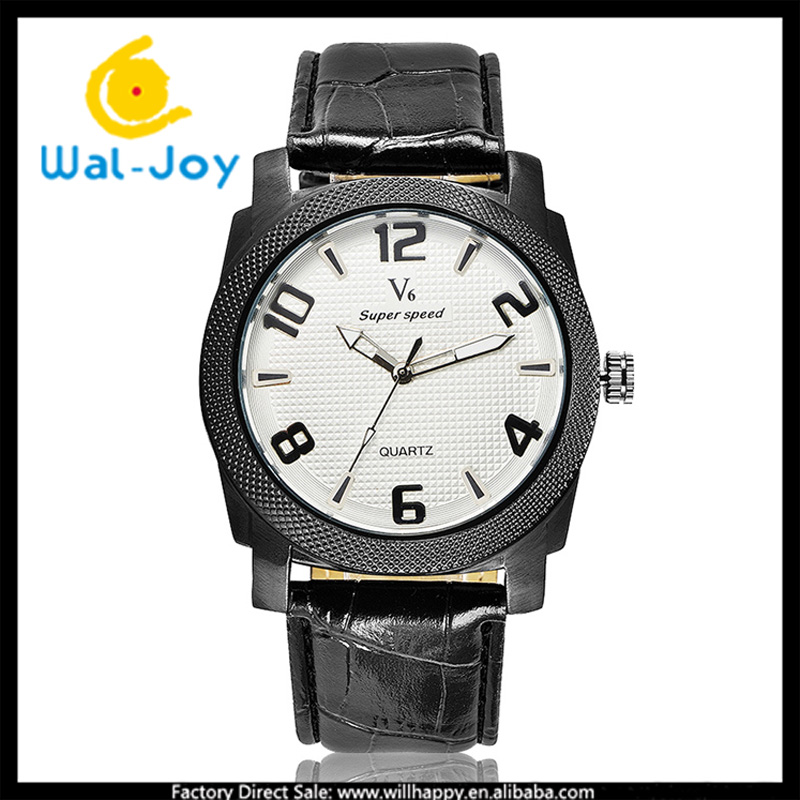 WJ-5423 made in China vogue popular wholesale personality V6 big dial men wrist wach