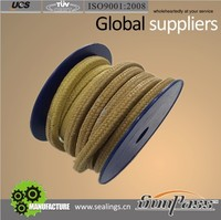 Offer braided kevlar Ptfe Seal Lubricated Gland Packing Material