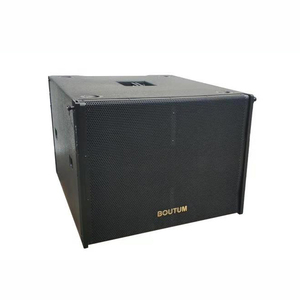 21 inch Passive Subwoofer Super Bass Speaker for outdoor line array