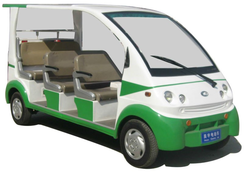 Electric Sightseeing Cart Eone S01 48v 4kw Eec Logated Penger Car 7 Seats Golf