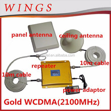 mobile signal booster 3G WCDMA - 2100Mhz cellphone signal amplifier/repeater from Shenzhen manufacturing company
