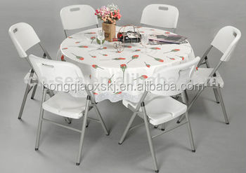Buitenkeuken levensduur personen draagbare ronde tafel tafels