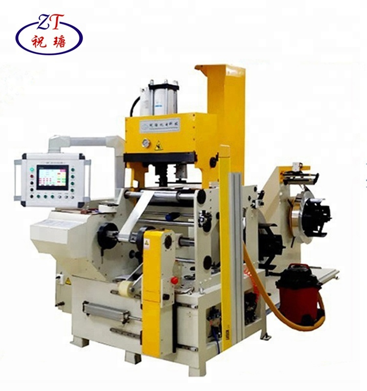 Automatic Cold Welding Copper Strip Winder Reactor And Transformer Foil  Winding Machine - Buy Reactor And Transformer Foil Winding Machine,Strip