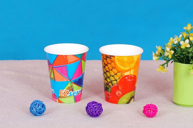 6oz Party kids double wall coffee paper cup for hot drink