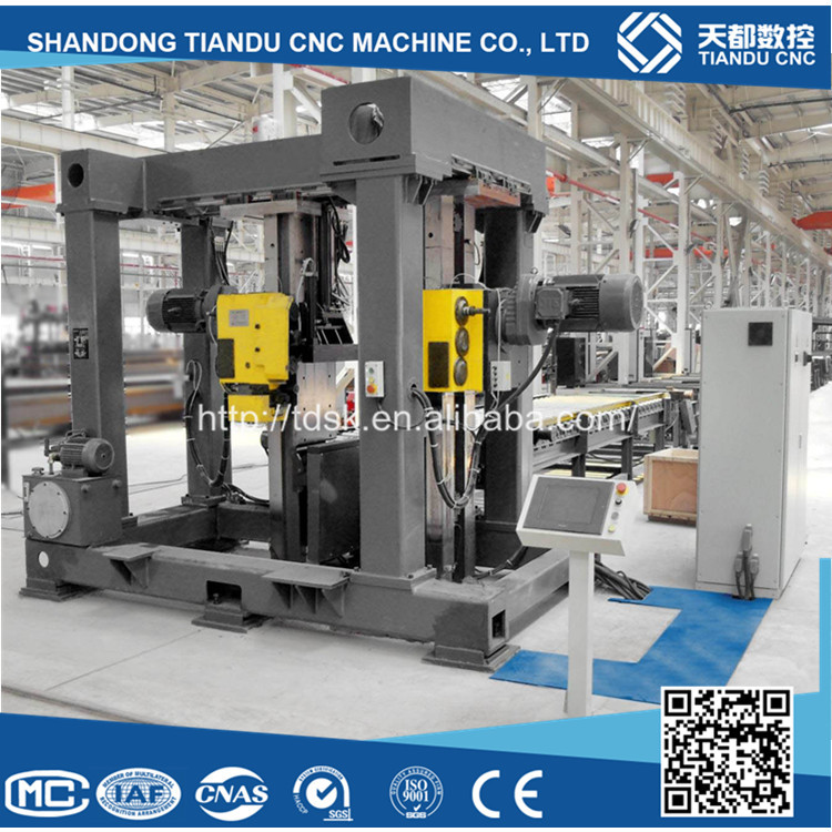 Chinese Cheaper New High Speed CNC Bevel Milling Machine for beams steel