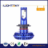TOP car custom led lights for electronic auto headlight car bulb h7 12-24V (9-32V DC) 50w 6000lm