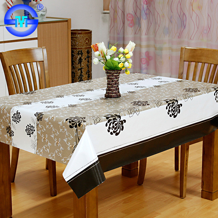 Factory Wholesale Cheap Hot Selling adhesive church table cloth white