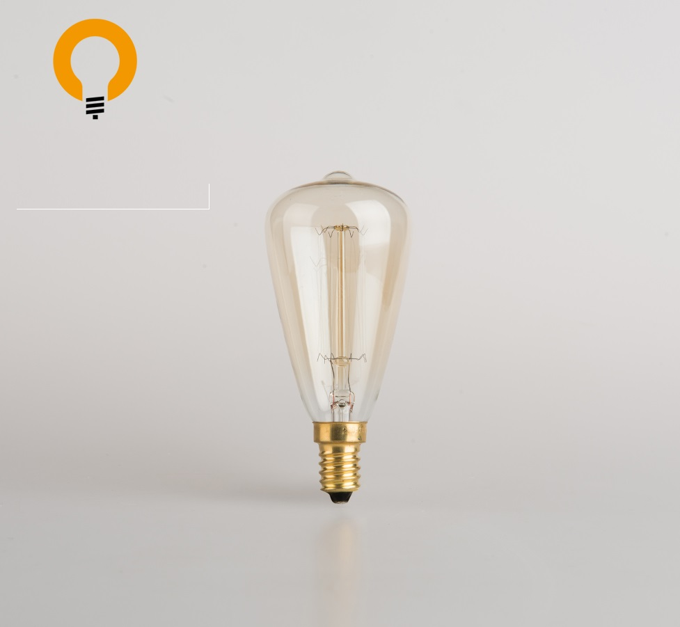 Wholesale China Squirrel Cage Clear E27 25W St48 B22 Edison Light Bulb