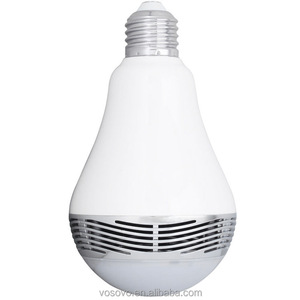 new products from usa Android IOS RGBW most popular world 1st smart led bulb speaker